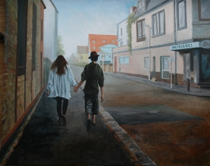 Evening stroll (sold)