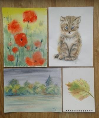 Sue Searle's watercolour workshop Sept 2016